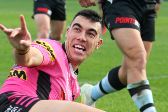 Debutant Panthers centre Charlie Staines has been stood down over a COVID-19 breach.