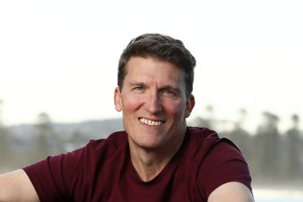 Spaceship chief executive Andrew Moore.