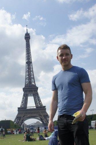 Jack O'Brien in Paris.