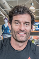 Queanbeyan racer Mark Webber, whose professional career began with the Canberra Kart Racing Club