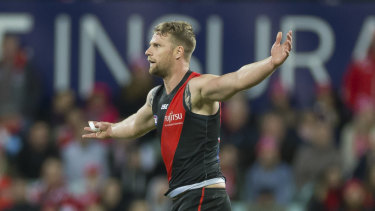 Improved package: Jake Stringer has grown his game at the Bombers.