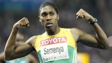 Semenya refused to take medication to lower her testosterone levels.