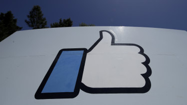 The Like logo at Facebook HQ in California. Is Facebook's approval of the latest regulatory measures a bad sign?