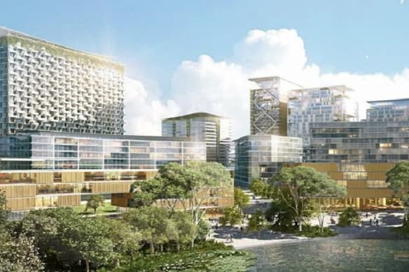 Sydney's new $740m health precinct will rival the greatest in the world