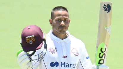 Khawaja sends Test message with another Shield century