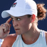 Barty survives huge scare at Miami Open