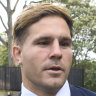 Jack de Belin's alleged victim 'dishevelled' at work, court hears