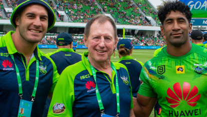 'I'll just get this poison into me first – then we can talk about rugby league'