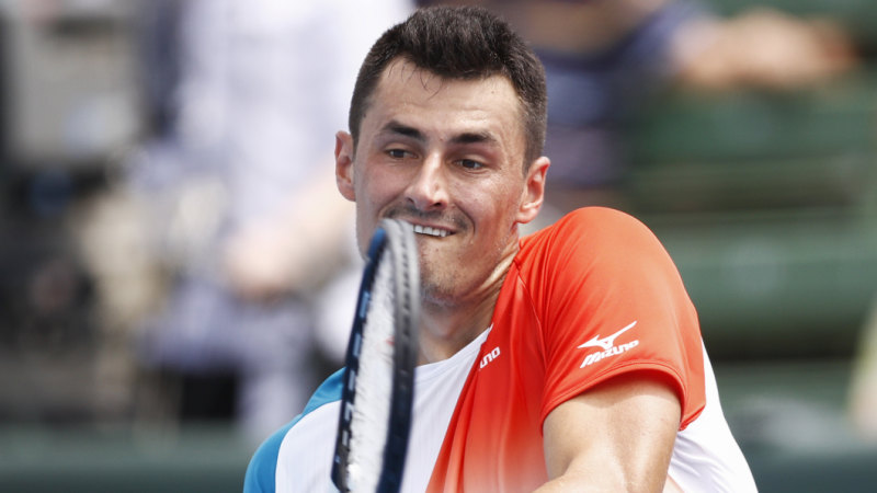 Tomic cruises to New York Open win