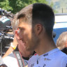 Sky rider banned for five weeks after punch thrown at Tour