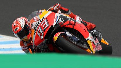 Wild winds cause chaos, halt qualifying at MotoGP