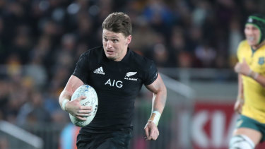 Beauden Barrett has been retained at fullback to face the Wallabies.