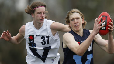 Will Sutherland plying his footy skills for Vic Metro two years ago.