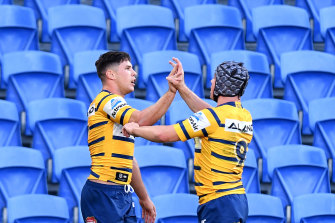 The Eels sit on top of the ladder after two rounds.