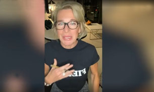Katie Hopkins mocks the hotel quarantine safety rules upon her arrival in Australia.