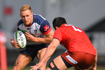 Reece Hodge is keen to get more involved when the Rebels host the Waratahs on Friday.