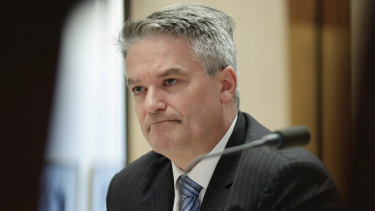 Repaid the cost of the trip: Mathias Cormann