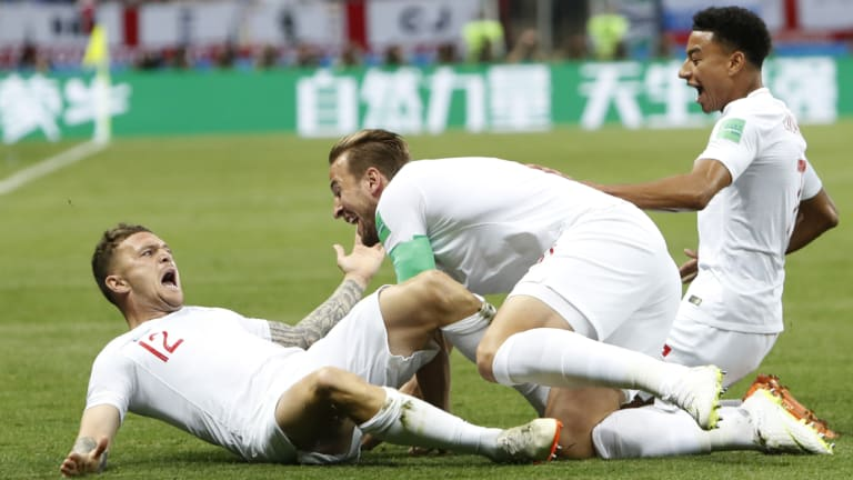 Progress: England were widely praised for their performances in Russia.