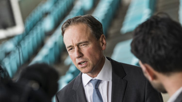 Health Minister Greg Hunt announced the suicide prevention funding at the Victorian Liberal Party state council on Saturday.