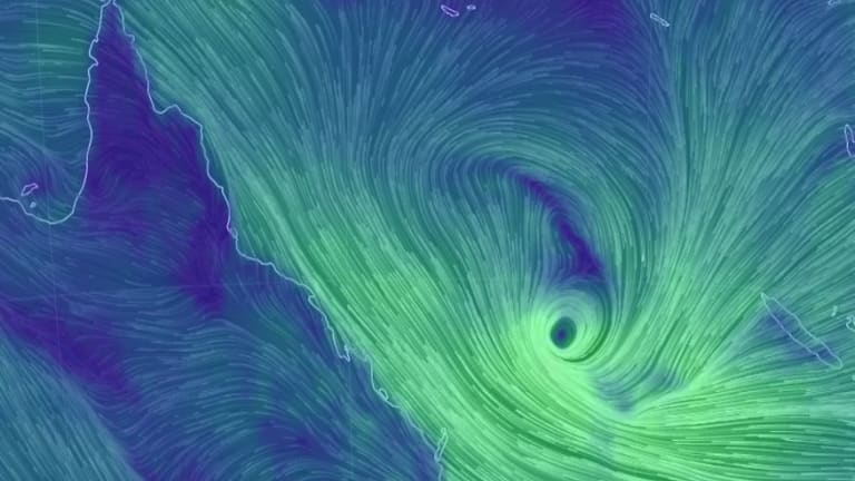 Tropical Cyclone Lindawould likely be downgraded to a low-pressure system as it loses strength on Wednesday morning.
