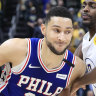 Simmons shunned by fans in NBA All-Star vote