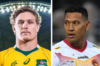 Wallabies captain Michael Hooper has been dragged into the ongoing fallout over Israel Folau's sacking.