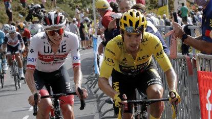 Roglic, Pogacar braced for Slovenian showdown at Tour de France