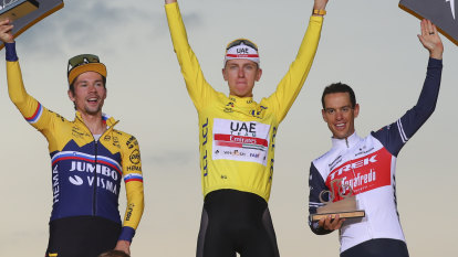 Porte in a storm: Calm during crisis finally leads to podium joy on Tour