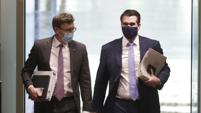 The day the nation's politicians found reason to hide behind masks