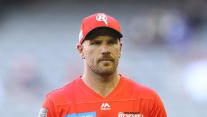 'I had an absolute shocker': Finch says he needs a break after BBL slump