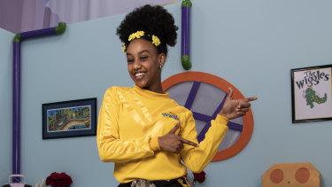 New Yellow Wiggle Tsehay Hawkins.