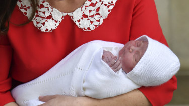 The name of the baby, who is fifth in line to the throne, has not been announced.