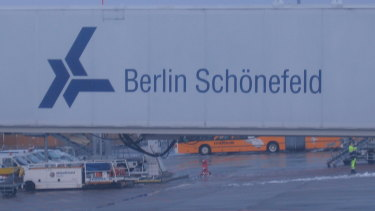 Sex toys were found in luggage at Berlin's Schonefeld Airport.