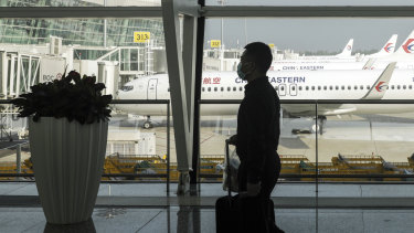 Passengers wearing face masks is just one of the measures airlines and airports will have to take.