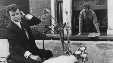 Michael Crawford leans out the window in The Knack... And How to Get it, Cannes' top film in 1965.