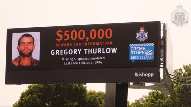 The billboard unveiled on Anzac Avenue in Rothwell in the Moreton Bay region.