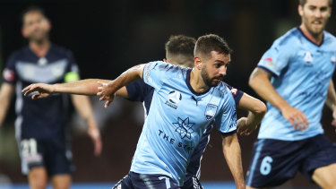Michael Zullo is a chance to return for Sydney FC on Saturday night against Perth.
