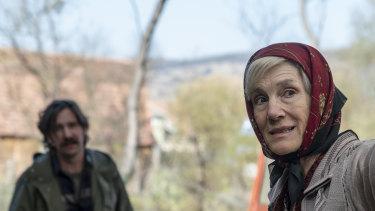 Harriet Walter played Villanelle's Russian handler Dasha in the latest season of Killing Eve.