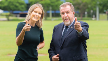 Former Ipswich deputy mayor Paul Tully will run as part of a two-person team in Division 2 with Goodna accountant Nicole Jonic.