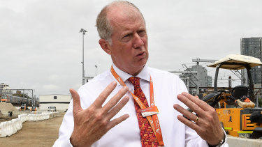 Sydney Trains chief executive Howard Collins warns it will take until Thursday to fix the damage.