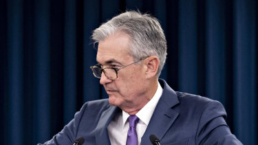 Treading a fine line: US Fed chairman Jerome Powell.
