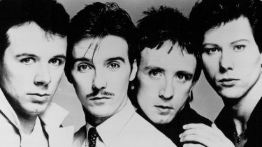 Ultravox in 1982 at the height of their success.
