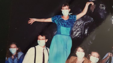 """""""Effervescently positive and extroverted"""" ... Steve Robson and Kate Tree, at left, in 1988."""