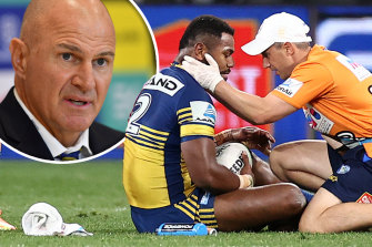 Eels coach Brad Arthur says he would never ask his players to milk a penalty.