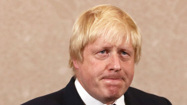 Boris Johnson, former mayor of London.
