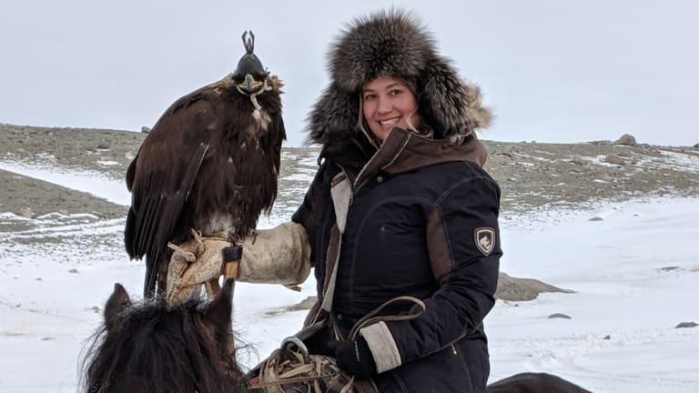 Saadiah Freeman in Mongolia this past year.