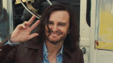 Australian actor Damon Herriman plays Charles Manson in Once Upon a Time in Hollywood.