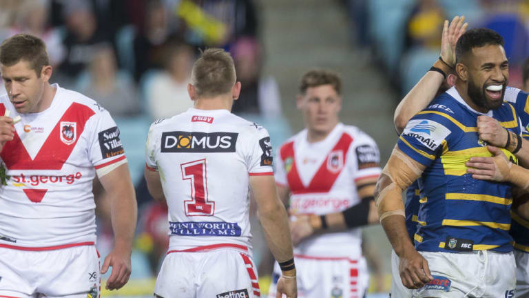 Criticism: The Dragons have received some unlikely support form former coach Wayne Bennett.