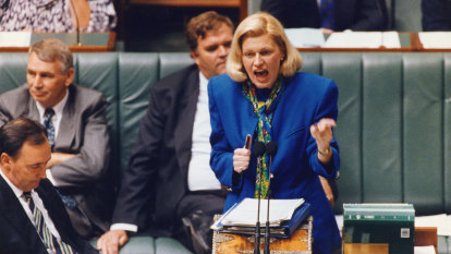 From the Archives, 1994: Ros Kelly quits over 'sports rorts' affair