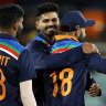 India claim victory in Canberra despite magic Maxwell chase